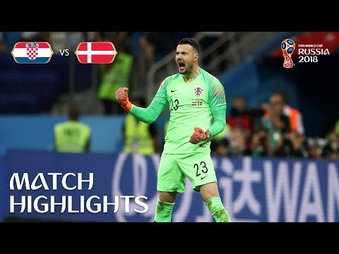 Croatia v Denmark - 2018 FIFA World Cup Russia™ - Match 52