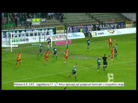 GKS Bełchatów - Jagiellonia Białystok 30.05.2013 ◦ Ekstraklasa 2012/2013 Cały Mecz - Pierwsza Połowa