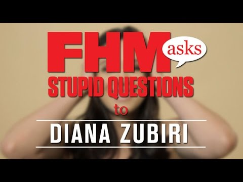 Fhm Asks Diana Zubiri Stupid Questions video