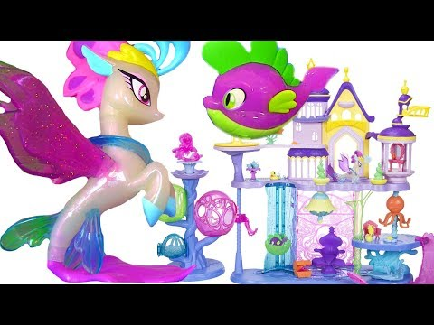 My Little Pony the Movie 2017 Май Литл Пони Мультик MLP Игрушки #Мультики Seaquestria Castle
