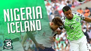 NIGERIA vs ICELAND LIVE World Cup 2018 Watchalong
