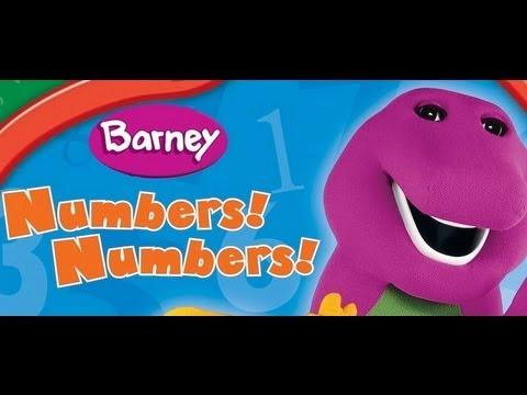 Barney - Numbers Numbers video