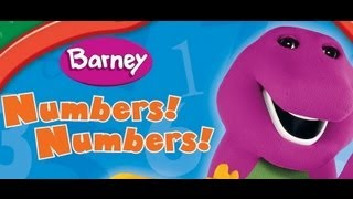 Barney - Numbers Numbers