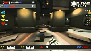 QuakeCon 2011 - Duel Bronze Final - coolleR vs czm