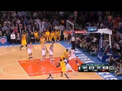 NBA Playoffs Conference 2013: Indiana Pacers Vs New York Knicks Highlights May 7, 2013 Game 2
