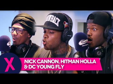 Nick Cannon, Hitman Holla & DC Young Fly Drop BIG Freestyle on Tim Westwood's Show