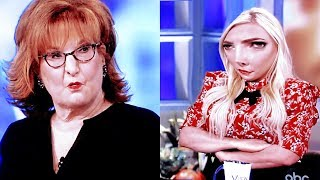 joy behar & meghan mccain fights on the view