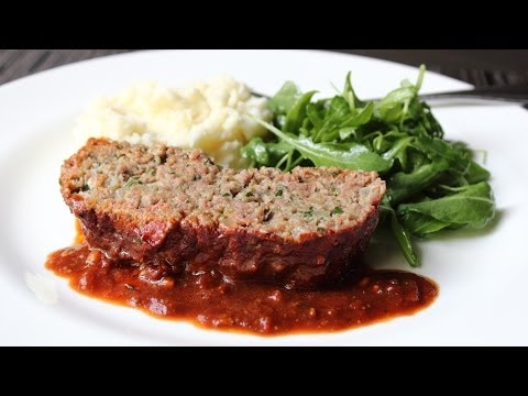 Prison-style Meatloaf - Special Meatball Loaf Recipe video