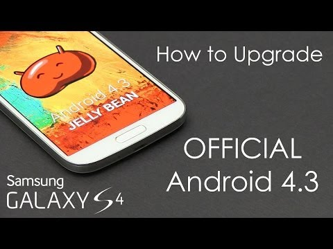 Galaxy S4 (I9500) - Samsung's Official Android 4.3 Update (FINAL) - How to Flash/Install