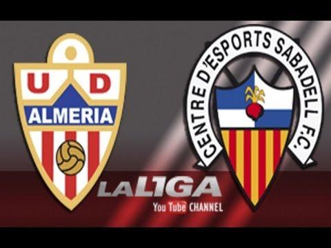 Gol de Silva (3-0) en el UD Almería - CE Sabadell  - HD