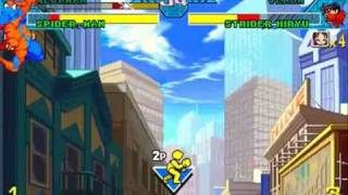 Marvel vs Capcom Mega Man/Spider-Man Playthrough 1/3