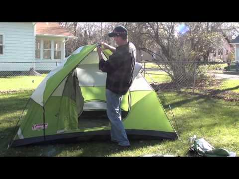 & Best (4 man) cheap tents for sale: Coleman Sundome Tent
