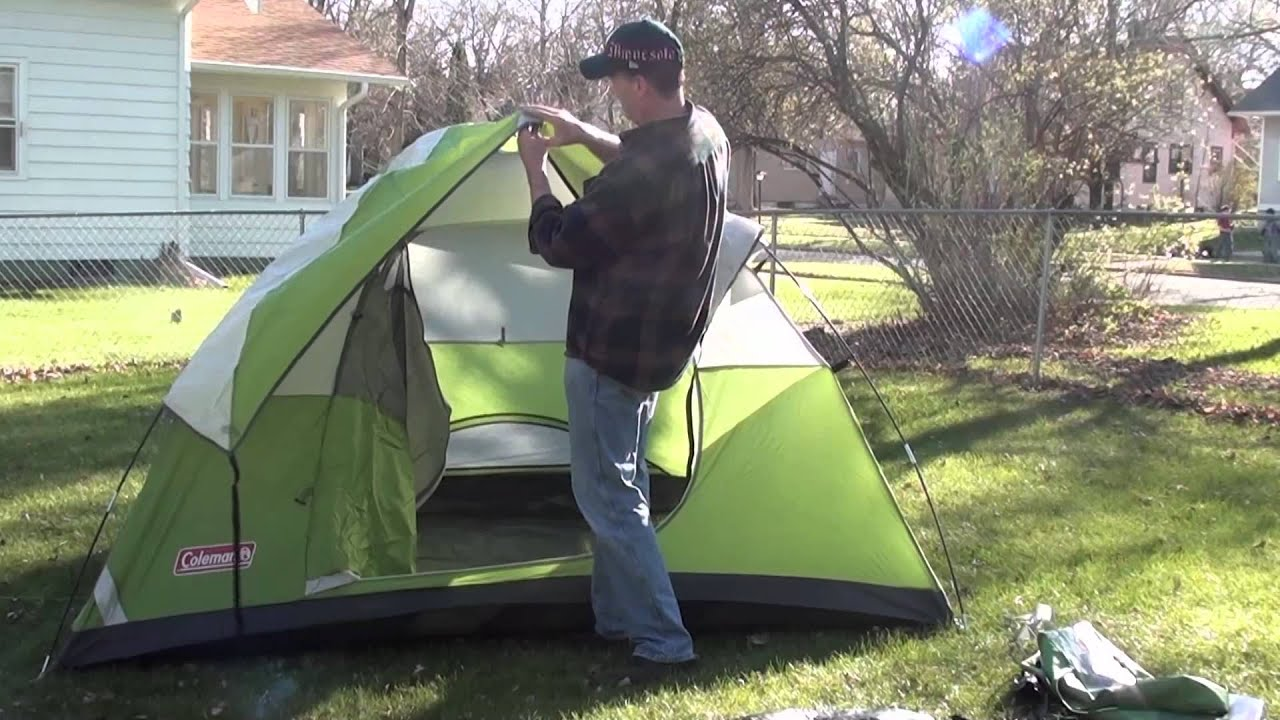 How To Set Up A Tent For Camping Amp A Crazy Little Dog