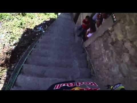 Recorrido de Bernardo Cruz en el Downhill Taxco 20