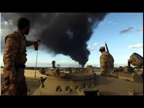 BBC News-Greek oil tanker bombed in Libyan port of Derna