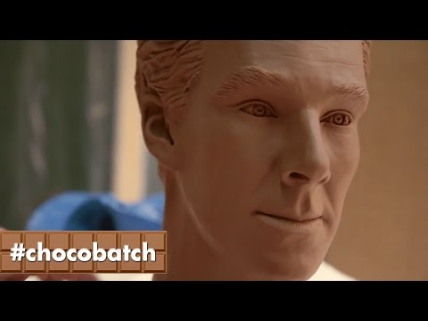 BENEDICT CHOCOBATCH | Benedict Cumberbatch gets chocolate makeover!