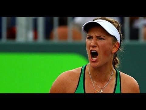 2016 Miami Open Round of 16 | Victoria Azarenka vs Garbine Muguruza | WTA Highlights