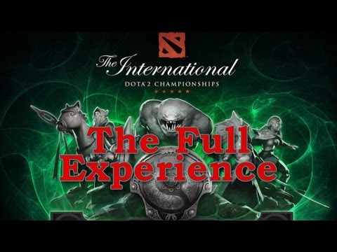 How to have the full Dota2 The International 3 Experience