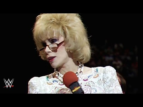 Joan Rivers Shines At Wrestlemania 2 video