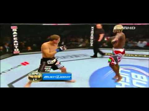 Joe Lauzon VS Melvin Guillard UFC 136 fight