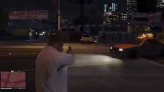GTA 5 SHOOT OUT & CRASH LEAKED GAMEPLAY