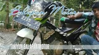 Takyun Vs Adam   Balapan Motor