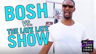 Chris Bosh vs. The Late Late Show Staff