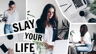 How To Plan & Organize Your Day Like A Pro / GIRLBOSS