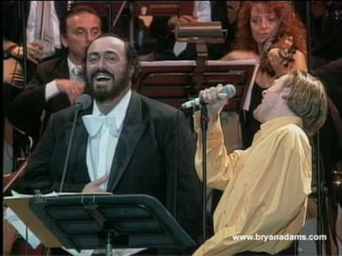 Bryan Adams & Luciano Pavarotti - 'o Sole Mio video