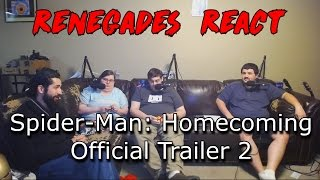 Renegades React to... Spiderman: Homecoming Official Trailer 2