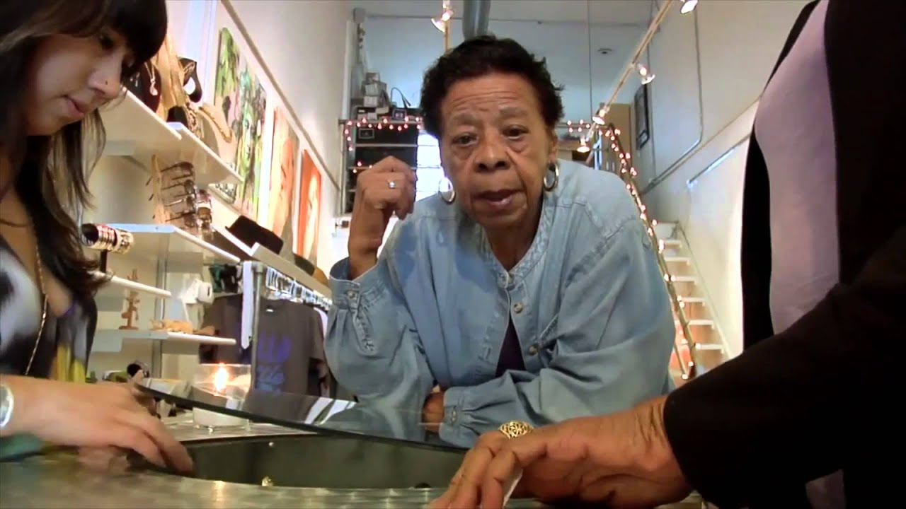 Vox-Pop for the film The Life and Crimes of Doris Payne