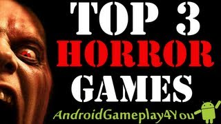Top 3 Best Android Horror Games 2013 (By AndroidGameplay4You) (Zombonic, Dead Strike, Dead Space)