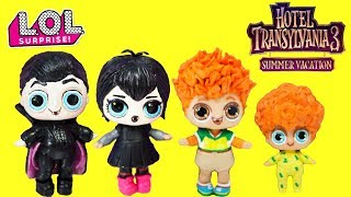 Hotel Transylvania 3 LOL Surprise DIY Custom Drac, Mavis, Johnny , Dennis