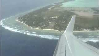 [pt 2] My Flight Departure from Tarawa Kiribati to Nadi in Fiji : 07/03/13