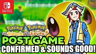 NEW Post Game Confirmed & It Sounds Great for Pokemon Let's Go Pikachu & Eevee! (Master Trainers!?)