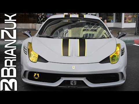 Matte Grey Ferrari 458 Speciale