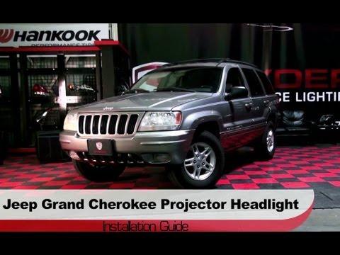 Spyder Auto Installation 1999 2004 Jeep Grand Cherokee