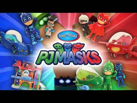 PJ Masks Toys! | A Toy Insider Play by Play