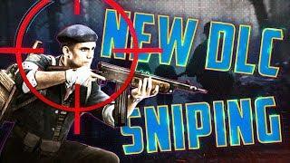 INSANE CLIP ON NEW DLC - WW2 Level 400 Sniping