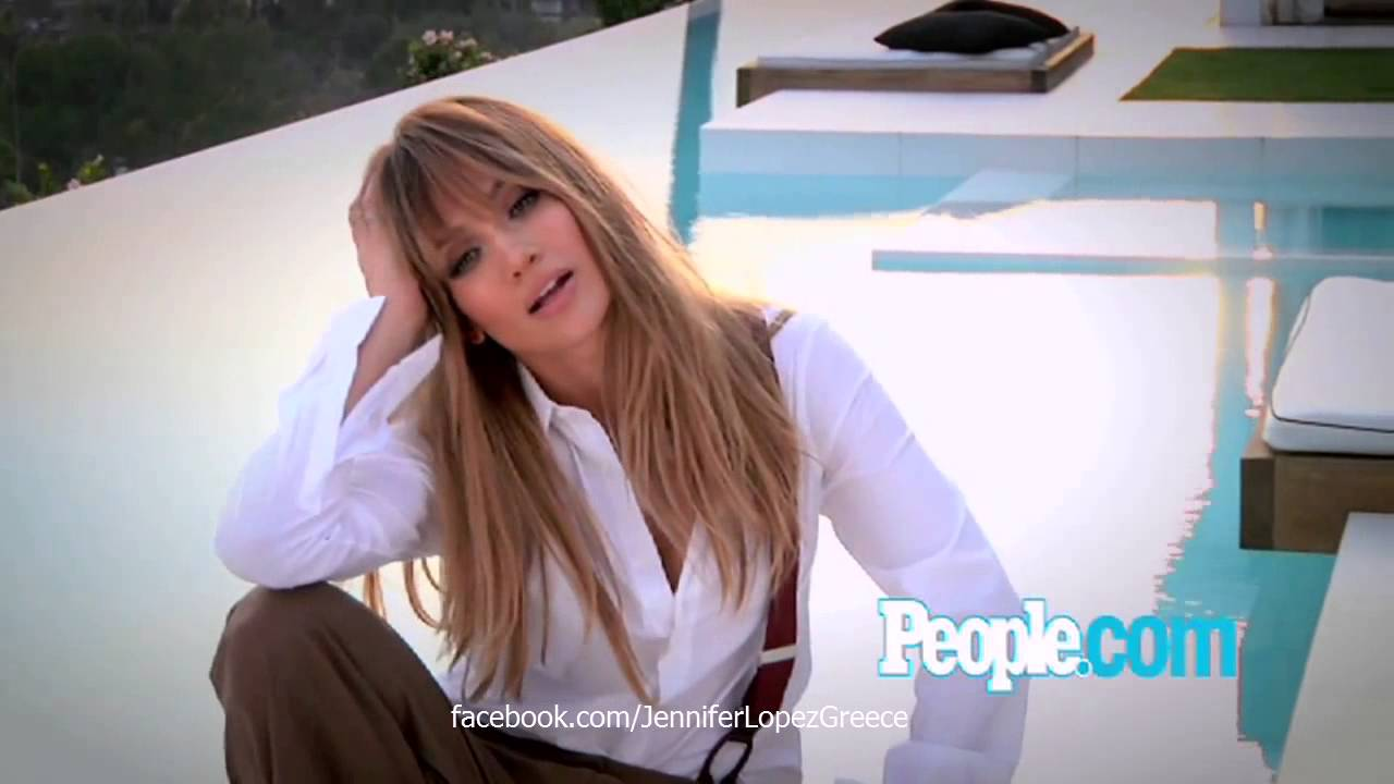 Jennifer Lopez - People Magazine Photoshoot Jan 2013 (HD) - YouTube