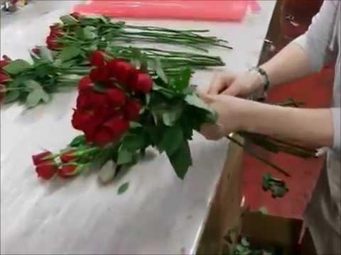 Букеты своими руками из живых цветов фото