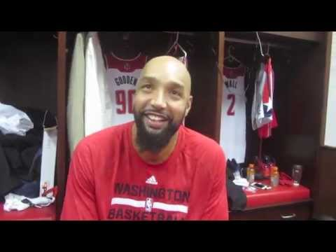 Drew Gooden chats about being a Washington Wizard