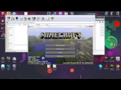 วิธีลง mod นารูโตะ minecraft 1.5.2