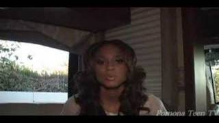 Ciara Interview on Pomona Teen TV