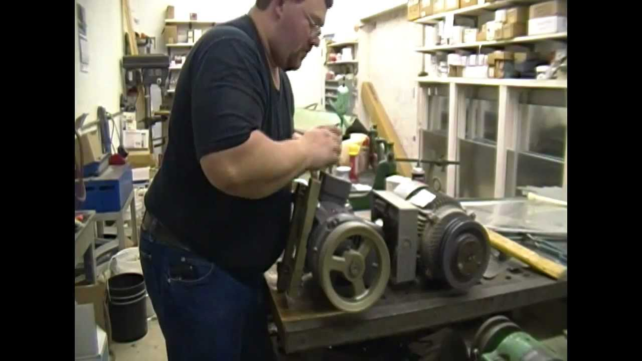 Quincy 325 Air Compressor Baldor Motor Installation-part 1