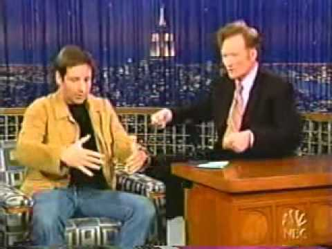 David Duchovny on Late Night with Conan O'Brien` 2004