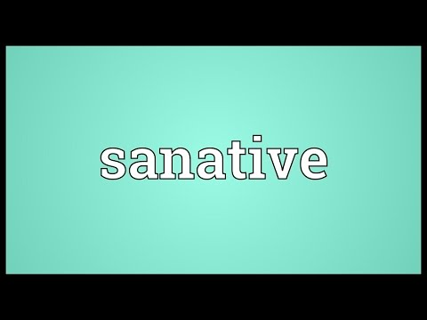Header of sanative