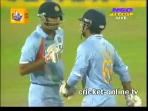 India vs Sri Lanka SL T20 20 Highlights Cricket 2009 Yusuf Irfan...