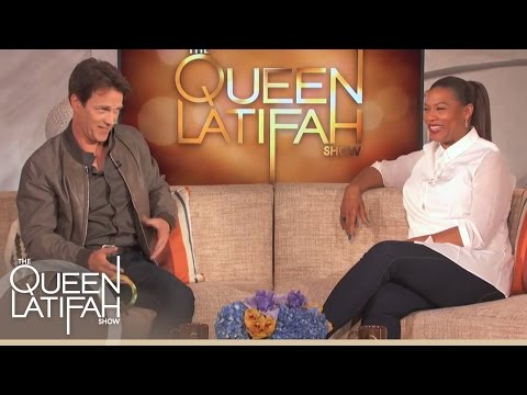 Stephen Moyer Talks About His Secret of Directing While Naked (Hot!) on The Queen Latifah Show
