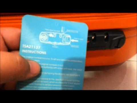 Swiss Polo Luggage Lock Reset Youtube